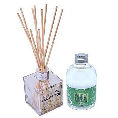 Difusor de Aromas Le Cube  Bamboo Blend 315 ml - Kit Presente
