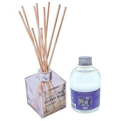 Difusor de Aromas Le Cube  Lavanda Francesa 315 ml - Kit Presente