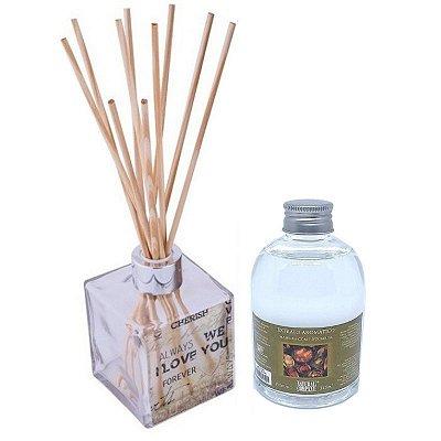 Difusor de Aromas Le Cube  Madeira com Especiarias 315 ml - Kit Presente