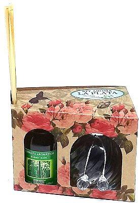 Difusor de Aromas La Plata Bamboo Blend 120ml - Kit Presente