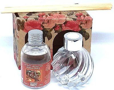 Difusor de Aromas La Plata Madeiras Nobres 120ml - Kit Presente
