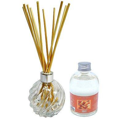 Difusor de Aromas La Plata Âmbar Real 315 ml - Kit Presente
