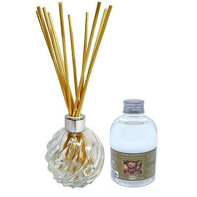 Difusor de Aromas La Plata Madeira com Especiarias 315 ml - Kit Presente