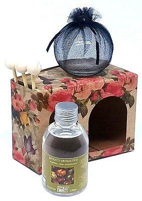 Difusor de Aromas Piccolo Spazio Madeira com Especiarias 120 ml - Automóveis