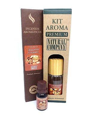 Kit Aroma Premium Estação do Ano Sementes Gourmet - Nota do Outono/Inverno - 4 Produtos no Kit