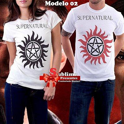 Camisa Personalizada - Tema Série Supernatural