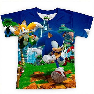 Camisa Infantil - Sublimação Total