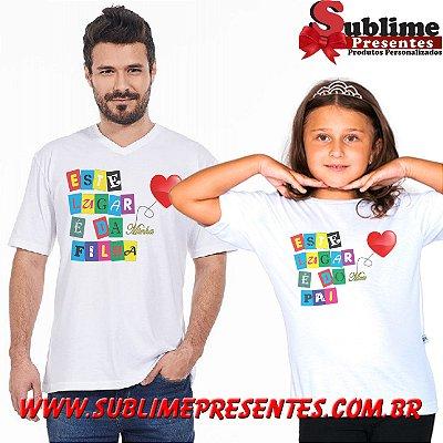Kit Tal Pai tal Filho(a) - Você escolhe a estampa