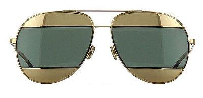 Óculos de sol Dior Split Verde Dourado fad6b2ee99