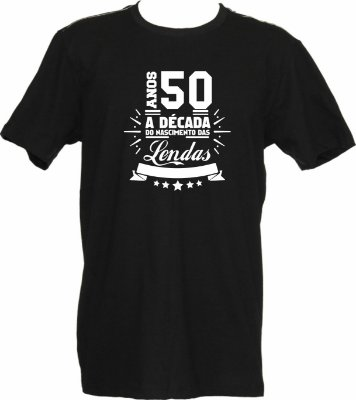 Camiseta Anos 50 Lenda