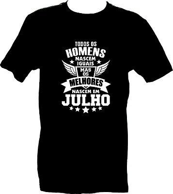 HOMENS DE JULHO