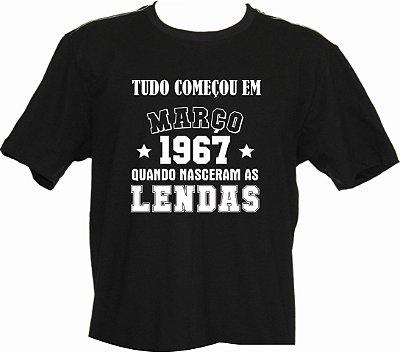 Camiseta Tudo Começou em Março 1967