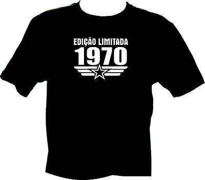 Camiseta Edição Limitada 1970