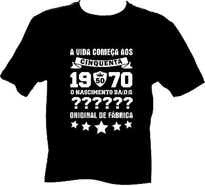 Camiseta 1970