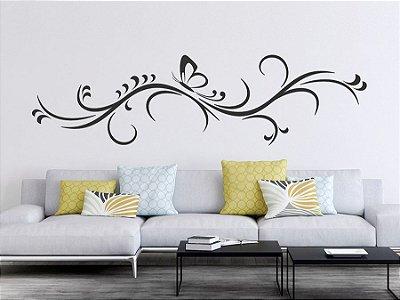 Adesivo de parede - Borboleta Decorativa