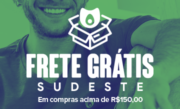 Mini Banner Frete Grátis - Sudeste R$ 150