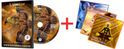 COMBO DVD LUMIAR + COLETÂNEA CD'S
