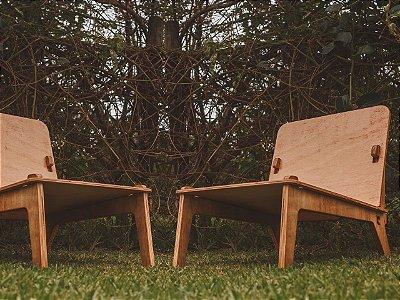 2 Cadeiras Netuno