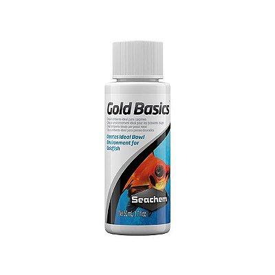 Condicionador de Água Seachem Gold Basics 50mL