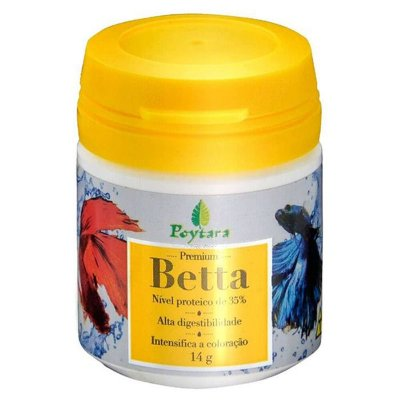 Ração Poytara Betta Premium 14g