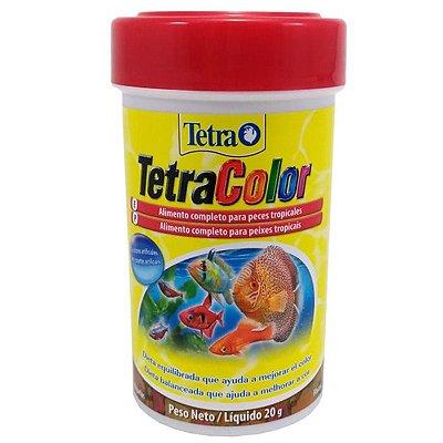 Ração Tetra TetraColor Flakes 20g