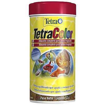 Ração Tetra TetraColor Flakes 52g