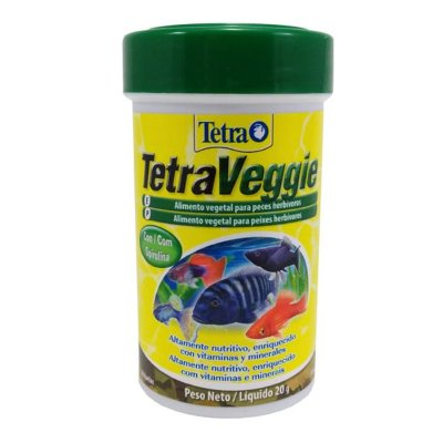 Ração Tetra TetraVeggie Flakes 20g