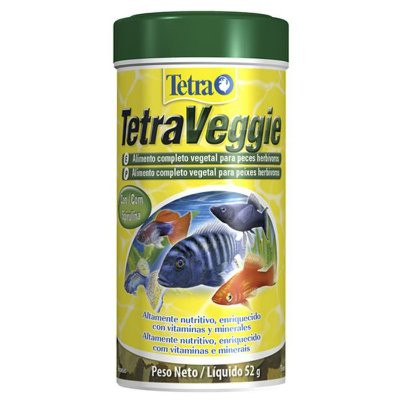Ração Tetra TetraVeggie Flakes 52g
