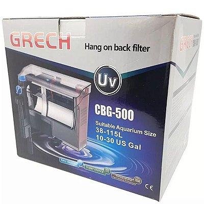 Filtro Externo Hang-On Grech UV 5W CBG-500  500L/h