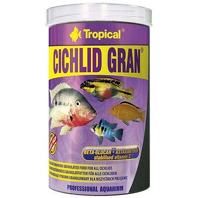 Ração Tropical Cichlid Gran 138g
