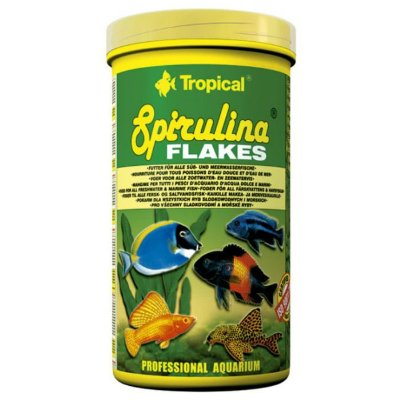 Ração Tropical Spirulina Flakes 20g