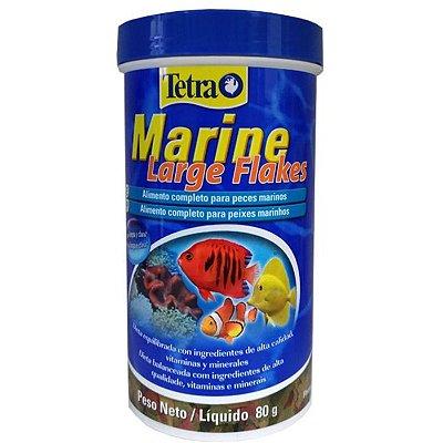 Ração Tetra Marine Large Flakes 80g