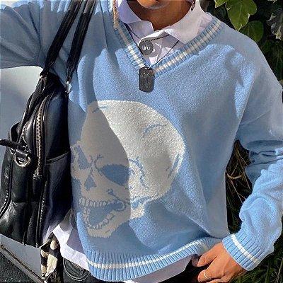 Suéter Vintage Skull - 3 cores