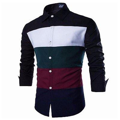 Camisa Listras Masculina - 2 cores