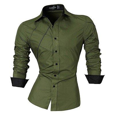 Camisa Cross Verde - Masculina