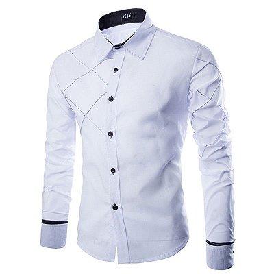 Camisa Cross Branca - Masculina