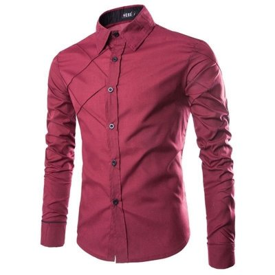 Camisa Cross Vinho - Masculina