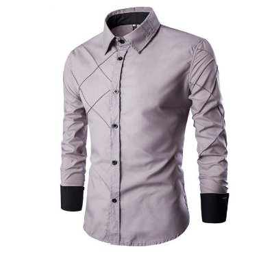 Camisa Cross Cinza - Masculina