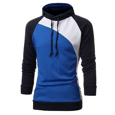 Moletom Colors Masculino - Azul