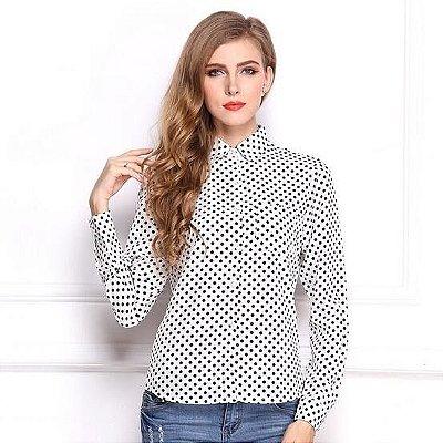 Camisa de Bolinhas - 2 cores