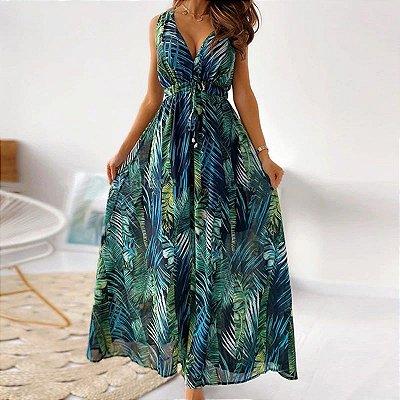 Vestido Longo Summer - 4 cores