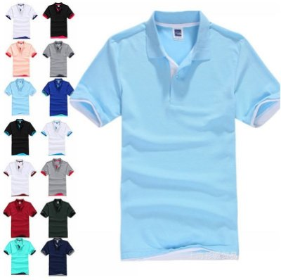 Camiseta Masculina Gola Polo - Várias Cores