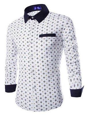 Camisa Masculina Estampada - 2 cores
