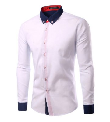 Camisa Masculina Duo Branca