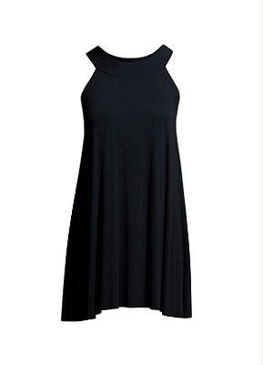 Vestido Trapézio Preto