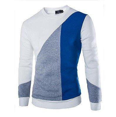 Suéter Masculino Slim Fit - Branco