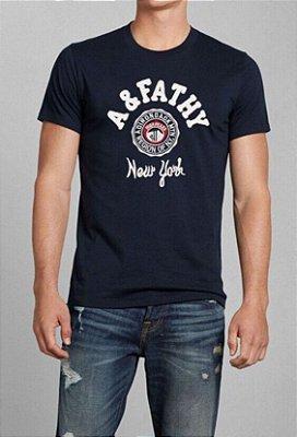 T-Shirt Masculina - Azul Marinho