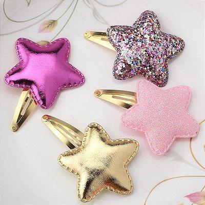 Presilha de Cabelo Estrela - 4 cores