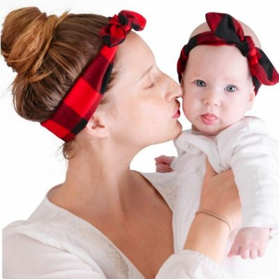 Headband Mãe e Filha - 6 cores