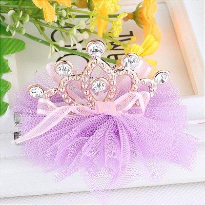 Prendedor Coroa de Princesa - 6 cores